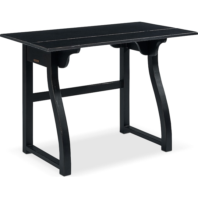 Home Office Furniture - Small Writing Desk - Black