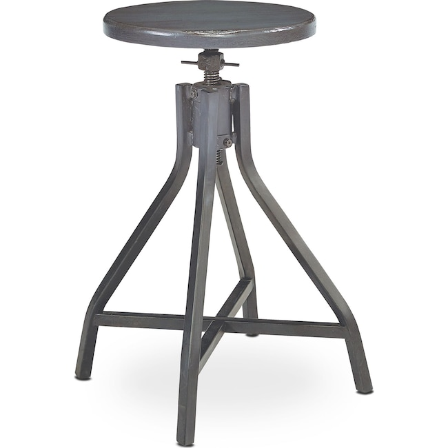 Home Office Furniture - Swivel Stool - French Grey