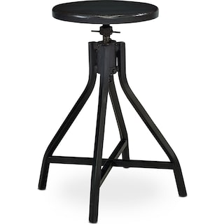 Swivel Stool - Black