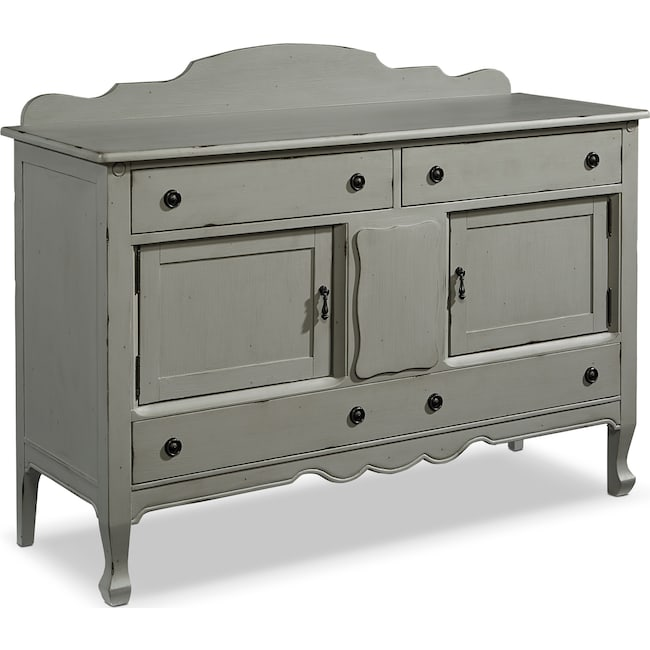 Dining Room Furniture - French-Inspired Silhouette Sideboard