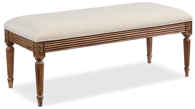 Bedroom Furniture - Louis 16 Bench
