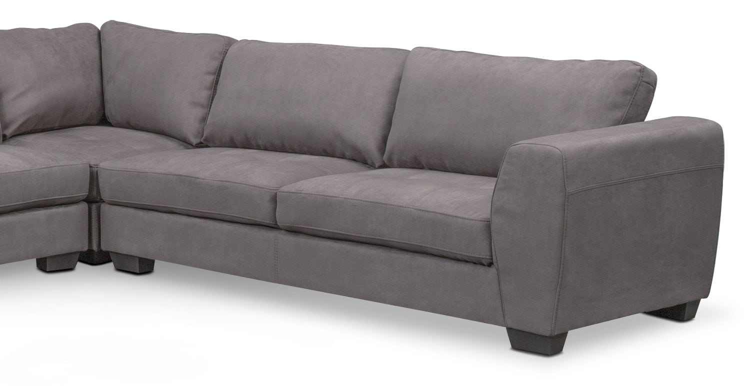 Santana 4 Piece Sectional With Chaise Value City Furniture And
