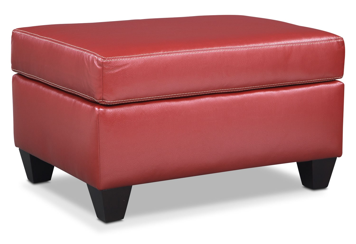 Living Room Furniture - Rialto Ottoman - Cardinal