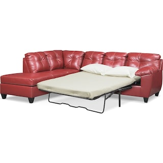 Ricardo 2-Piece Queen Sleeper Sectional with Chaise
