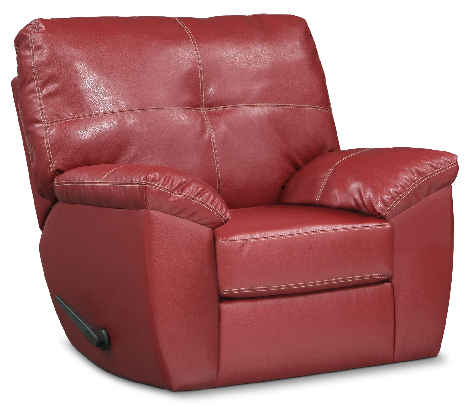 Living Room Furniture   Ricardo Glider Recliner   Cardinal