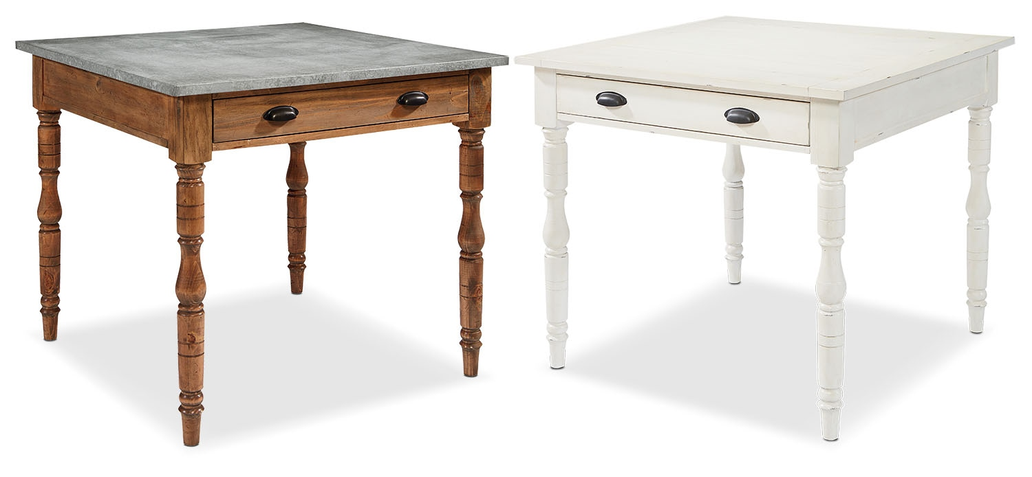 The Primitive Taper Turned Gathering Table Collection