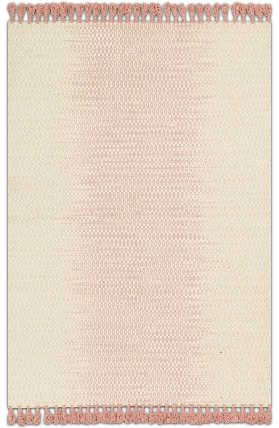 Rugs - Chantilly 5' x 8' Rug - Ivory and Blush