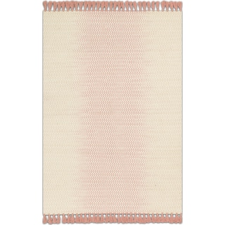 Chantilly 4' x 6' Rug - Ivory and Blush