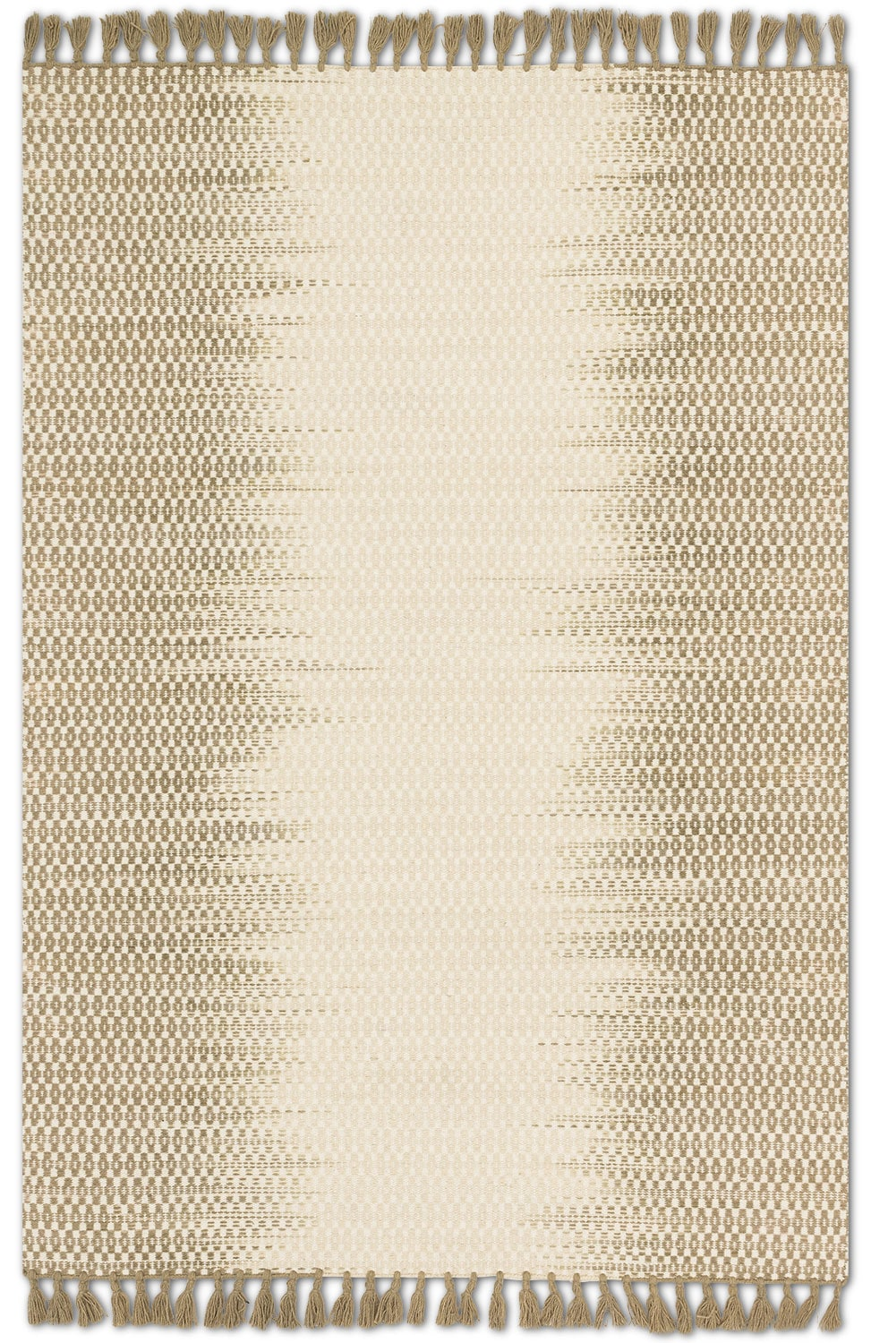 Rugs - Chantilly 9' x 13' Rug - Ivory and Olive