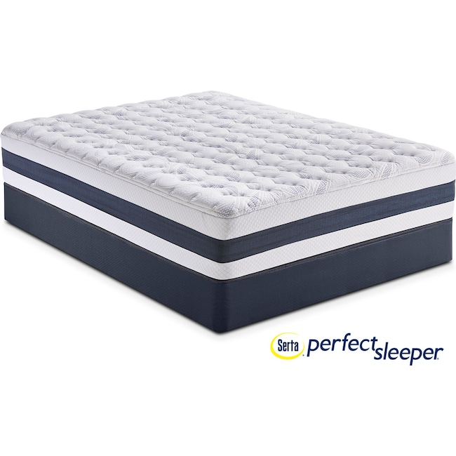 Mattresses and Bedding - Carson Ridge Twin Mattress and Low-Profile Foundation Set