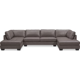 Santana 3-Piece Sectional - Gray