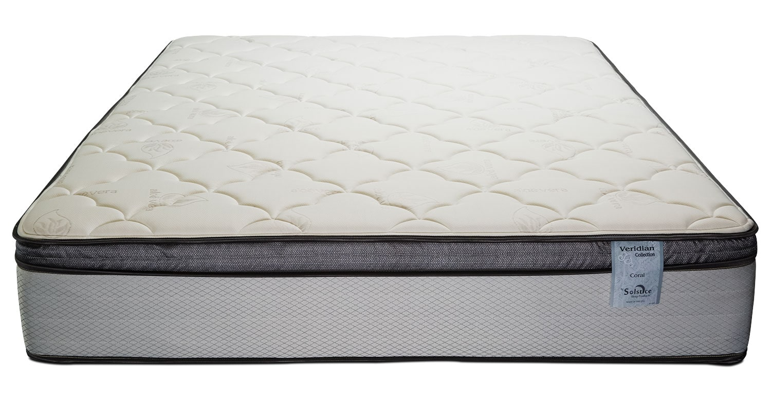 Mattresses and Bedding - Oasis Plush Pillowtop Twin Mattress