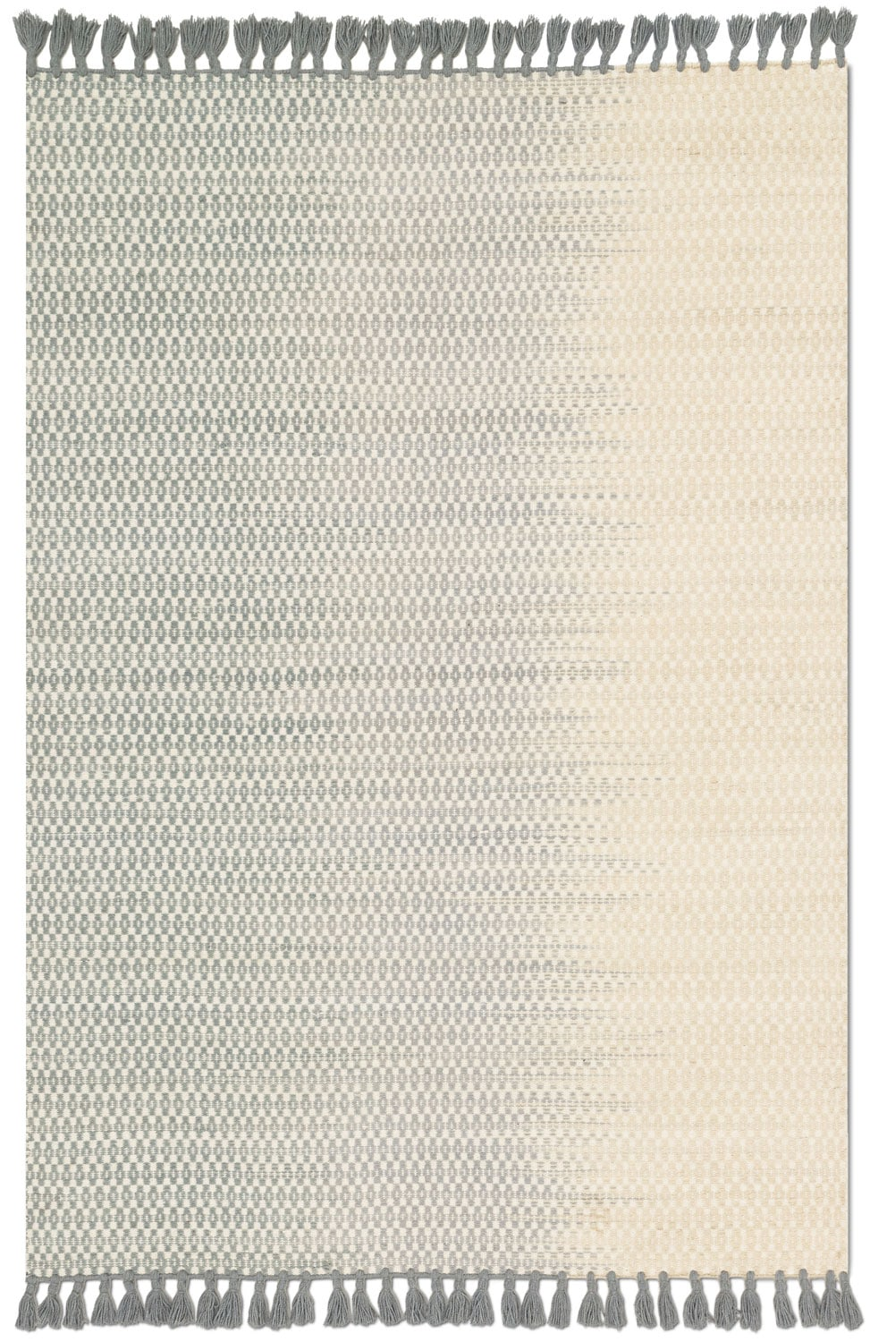 Chantilly 4' x 6' Rug - Ivory and Mist