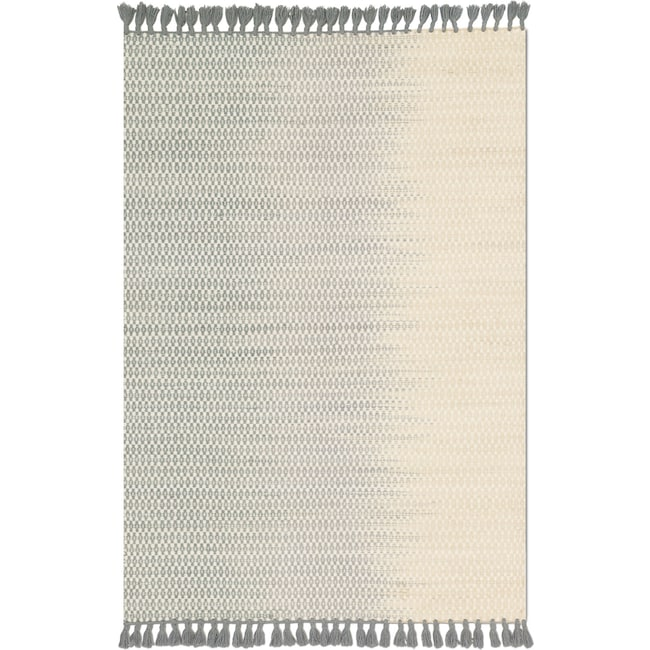 Rugs - Chantilly 9' x 13' Rug - Ivory and Mist
