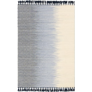 Chantilly 4' x 6' Rug - Ivory and Navy