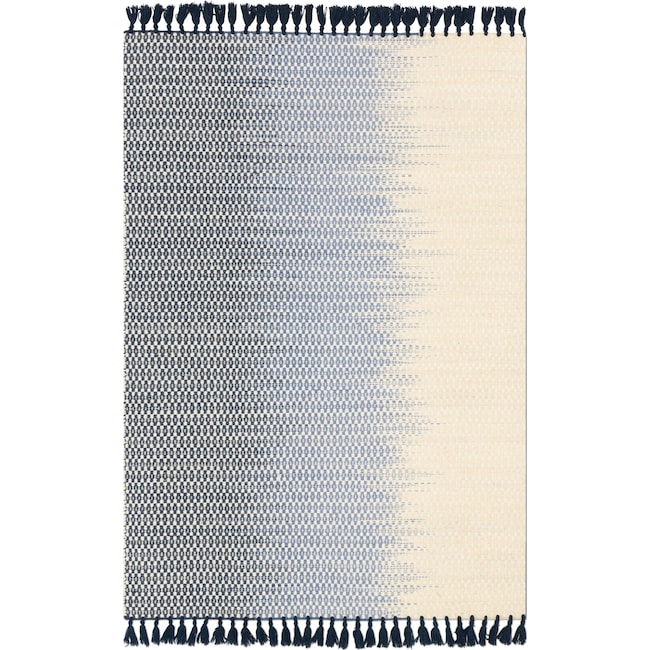 Rugs - Chantilly 4' x 6' Rug - Ivory and Navy