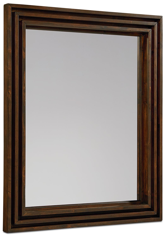 Bedroom Furniture - Stacked Slat Mirror