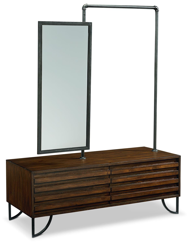 Bedroom Furniture - Stacked Slat Valet