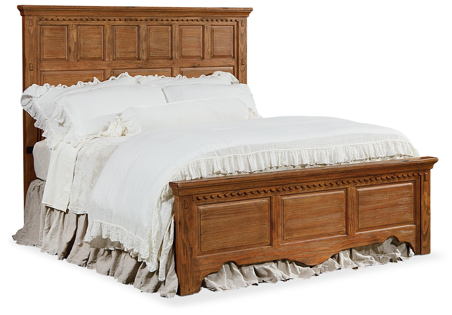 Bedroom Furniture - King Mantel Bed