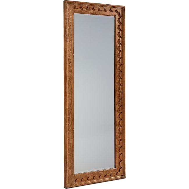 Bedroom Furniture - Scallop Floor Mirror
