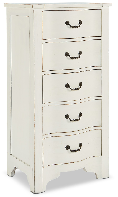 Bedroom Furniture - La Grange Demi-Chest - White