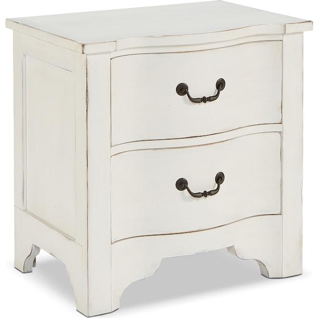 Bedroom Furniture - La Grange Nightstand - White