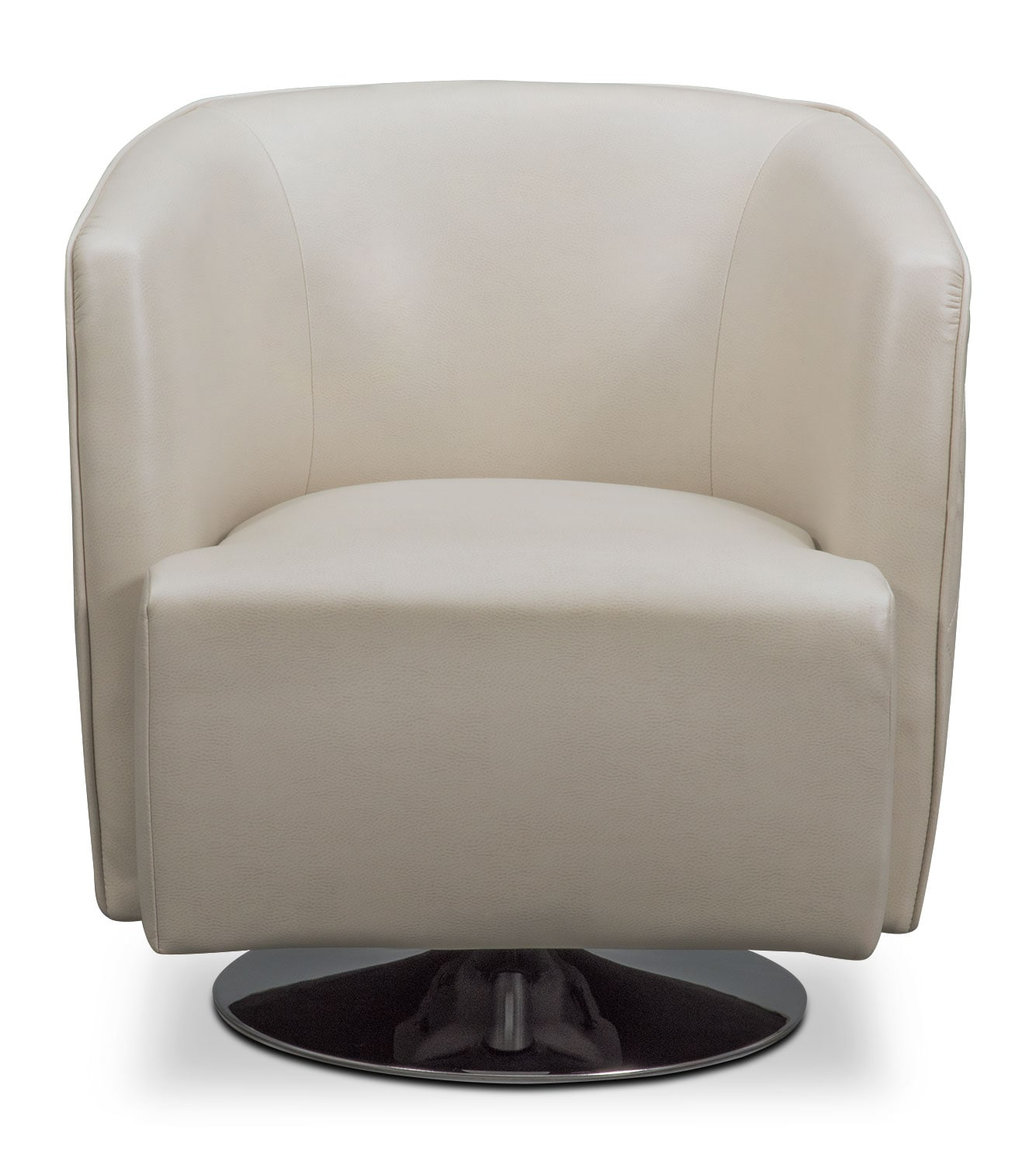 Santana Swivel Chair Ivory