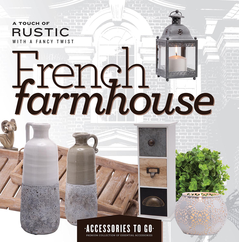 French Farmhouse 15-Piece Accessory Set