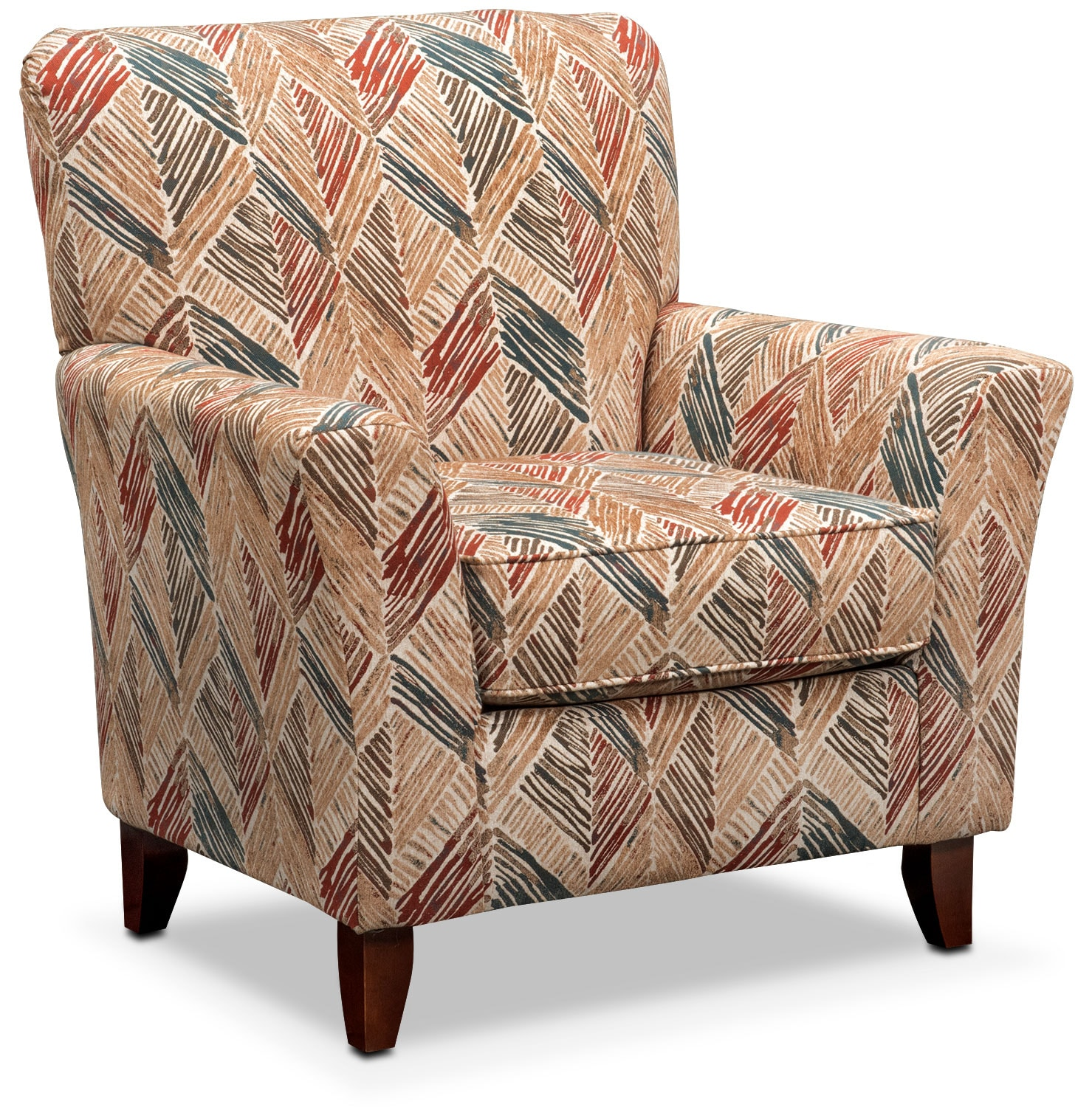 Lakelyn Accent Chair - Cocoa Multi