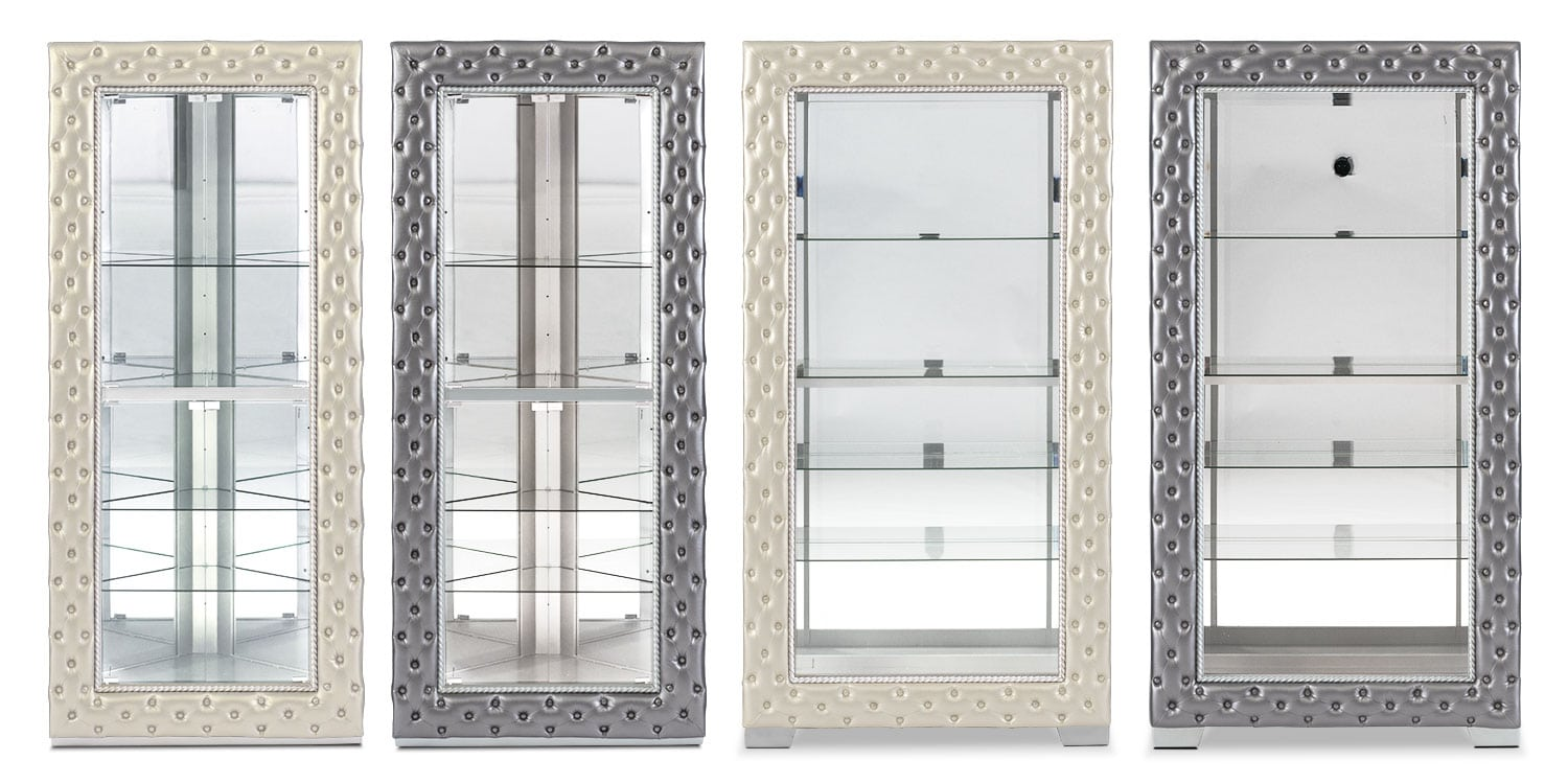 The LaSalle Collection - Pewter and Pearl