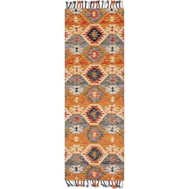 Rugs - Brushstroke 3' x 8' Rug - Santa Fe Spice