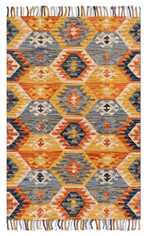 Rugs - Brushstroke 9' x 13' Rug - Santa Fe Spice
