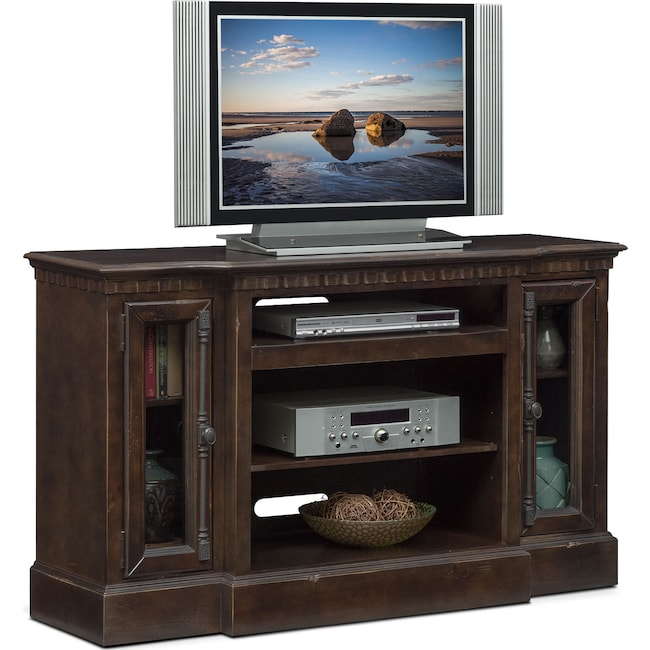 "Entertainment Furniture - Claridge 54"" Media Stand - Tobacco"