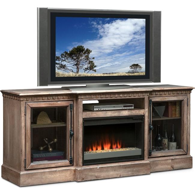 Entertainment Furniture - Claridge Fireplace Media Stand