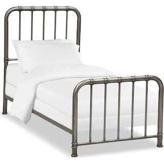 Pendleton Youth Twin Bed - Gunmetal