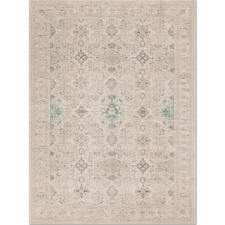 Ella Rose 4' x 6' Rug - Bone