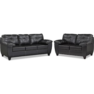 Ricardo Sofa and Loveseat Set