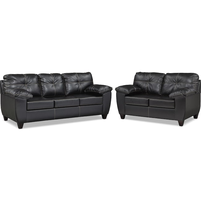 Living Room Furniture - Ricardo Sofa and Loveseat Set