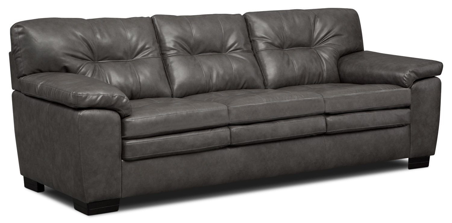 Living Room Furniture - Magnum Sofa - Gray