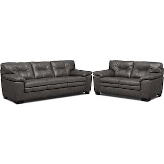 Magnum Sofa and Loveseat Set