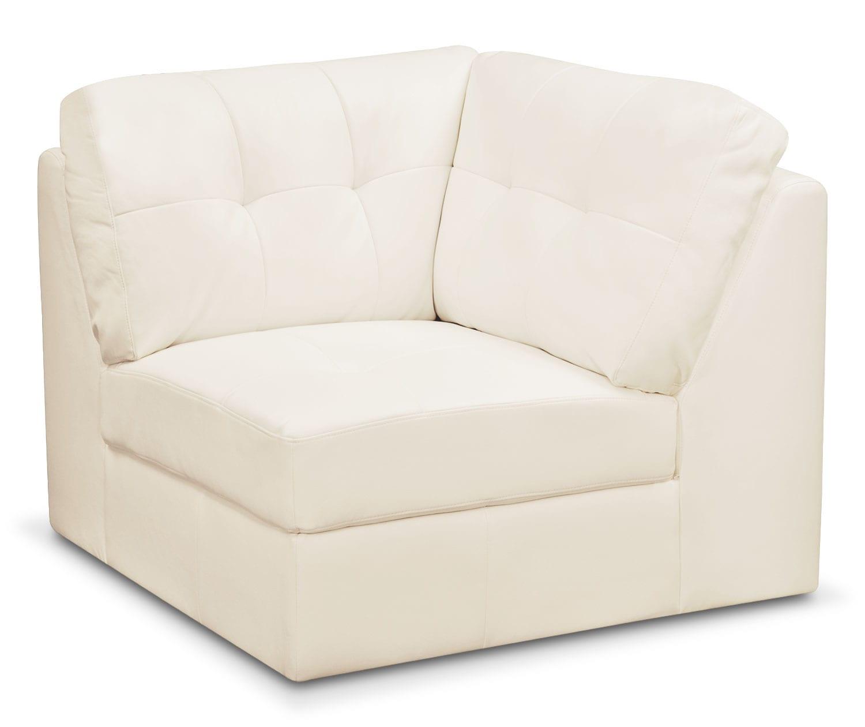 Cayenne Corner Wedge - White