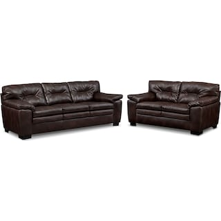 Magnum Sofa and Loveseat Set