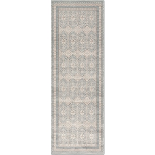 Ella Rose 3' x 8' Rug - Mist and Stone