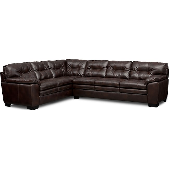 Magnum 2 Piece Sectional With Right Facing Sofa Value City