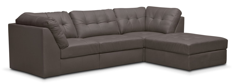 Cayenne 4-Piece Modular Sectional - Gray