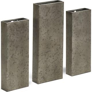 Metal Wall Pocket Set