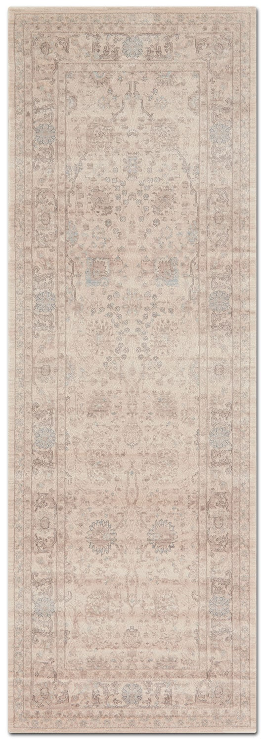 Rugs - Ella Rose 3' x 11' Rug - Natural
