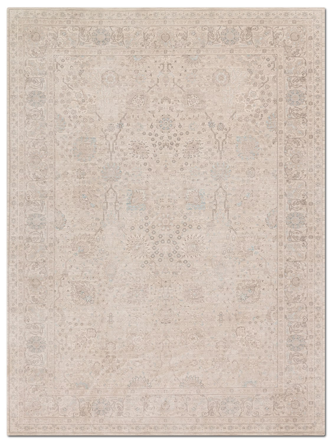 Rugs - Ella Rose 7' x 11' Rug - Natural
