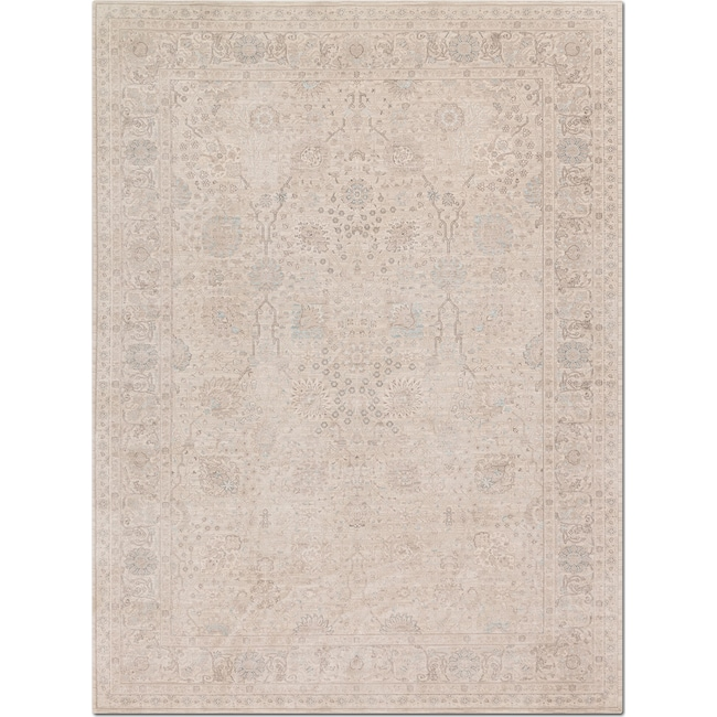 Rugs - Ella Rose 12' x 15' Rug - Natural
