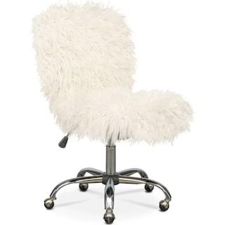 Frenzy Faux Fur Office Chair